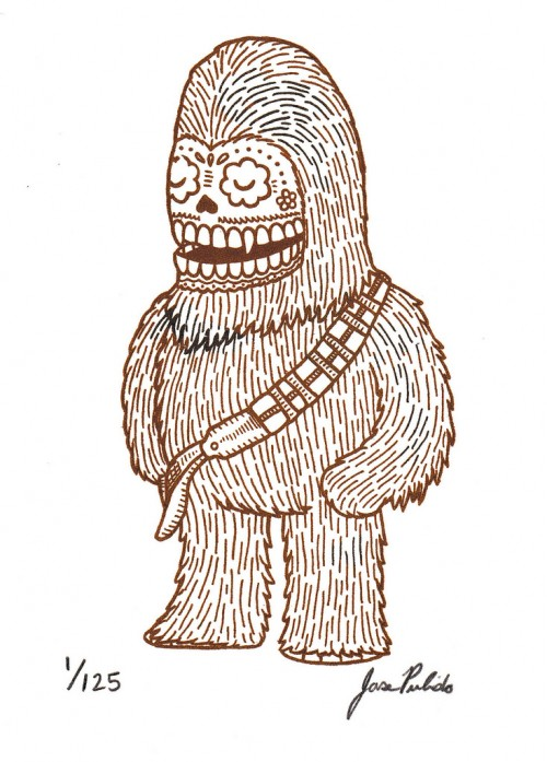 Star-Wars-Mexican-Traditional-Art-7-500x697