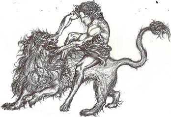 desenho danilo ilustração a