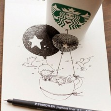 starbucks-cup-drawings-tomoko-shintani-10-600x600-550x550
