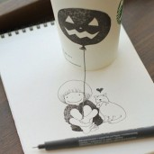 starbucks-cup-drawings-tomoko-shintani-2-600x600-550x550