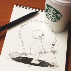 starbucks-cup-drawings-tomoko-shintani-6-600x600-550x550