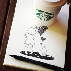 starbucks-cup-drawings-tomoko-shintani-8-600x600-550x550