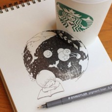 starbucks-cup-drawings-tomoko-shintani-9-600x600-550x550