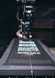 Filming-The-Empire-Strikes-Back-Credits-Roll1
