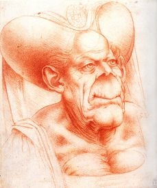 Grotesque Head I Da Vinci