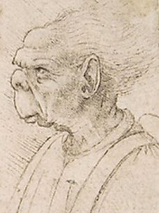 Grotesque Head II Da Vinci