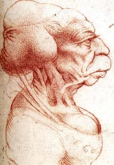 Grotesque Head III Da Vinci