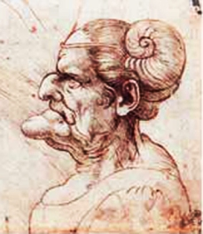 Grotesque Head V Da Vinci