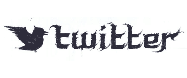 Famous-Company-Logos-in-Black-Metal-typography-Style