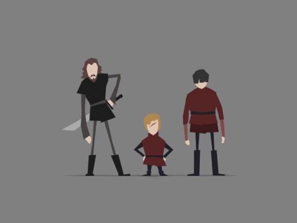Jerry-Liu-Game-of-Thrones-Fan-art-tyrion-bronn-580x435