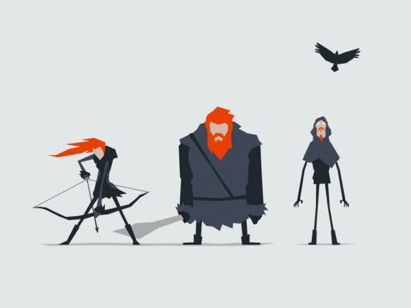 Jerry-Liu-Game-of-Thrones-Fan-art-wildlings-ygrid-580x435